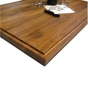 Kochfeldabdeckung für die Küche aus Holz