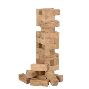 Jenga Holzturm