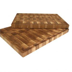 Kopfholz Küchenbrett aus Eichenholz