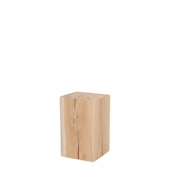 Holzklotz - Holzblock unbehandelt