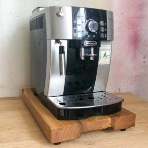 Gleitbrett für die Kaffeemaschine