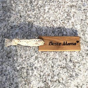 Beste Mama Häkelspitze