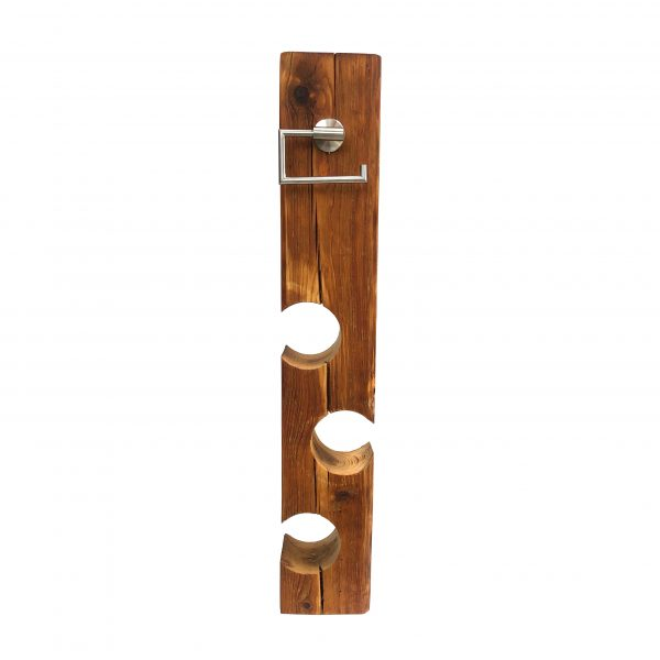 Badezimmer Klorollenständer Holz
