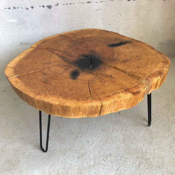 Baumscheiben Tisch fürs Wohnzimmer