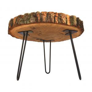 Couchtisch Holzstamm Eiche