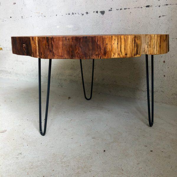 Eichenholz Baumtisch