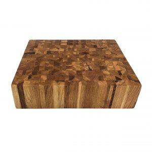 Stirnholz Hirnholz Hackblock Eichenholz