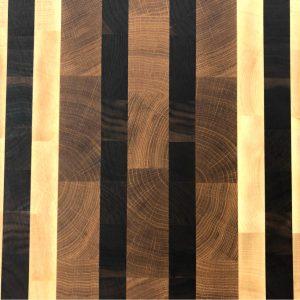 Endgrain Cuttingboard three colors