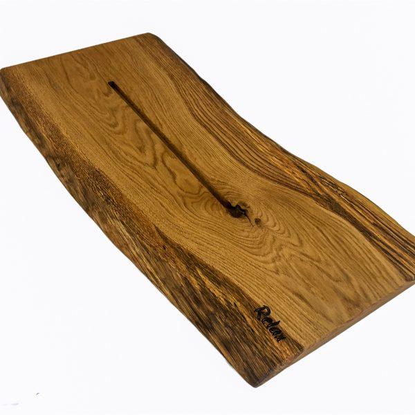 Holzbadebrett aus Eichenholz