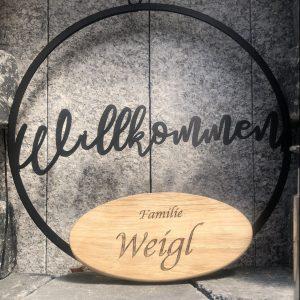 eichenholz-haustürschild-gravur-name