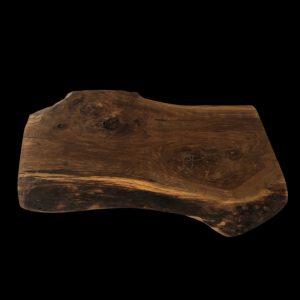 rustikales Eichenholz Brotzeitbrett