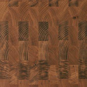 Stirnholz Eiche Detailsicht