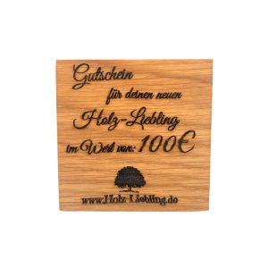 Wertgutschein Holz-Liebling