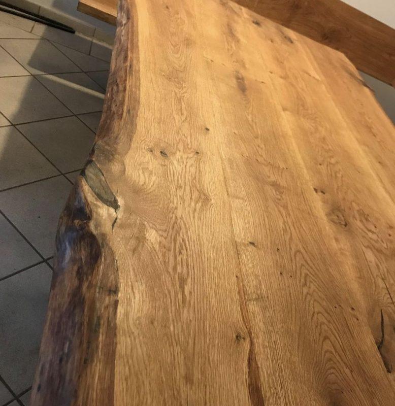 Eichenholztisch